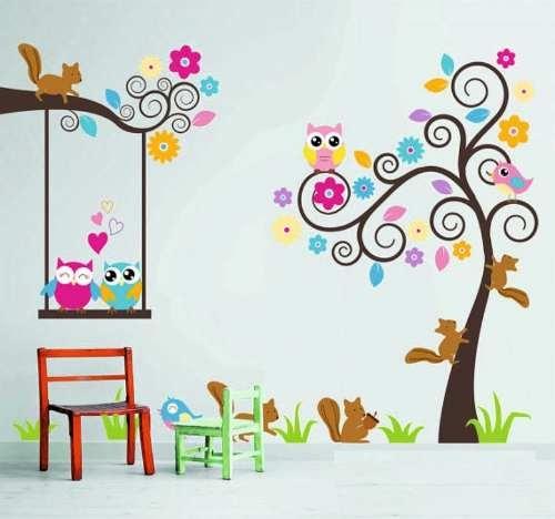 Deco-cris Vinilos Decorativos Infantiles Entra Y Mira - $ 465,00 en MercadoLibre