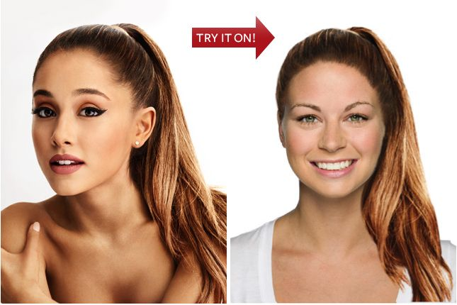 InStyle Hollywood makeover - Free Online Virtual Makeover.