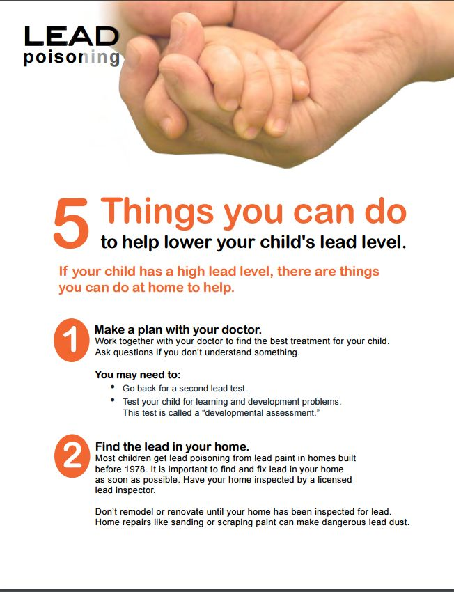 Read on to learn about 5 things you can do to protect your children from Lead Poisoning.