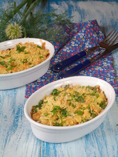 Просто и вкусно: Рыбная запеканка с рисом и кабачком