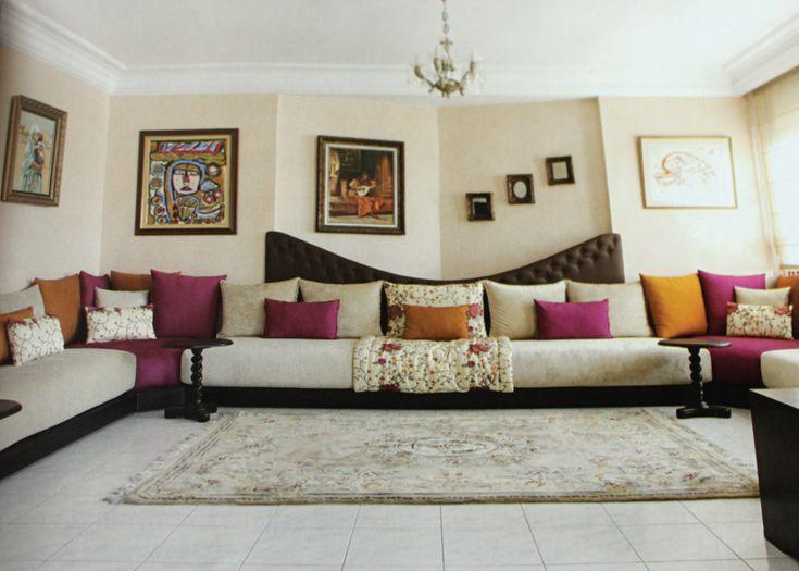 Die besten 25+ Salon marocain Ideen auf Pinterest   Riad, Salon ...