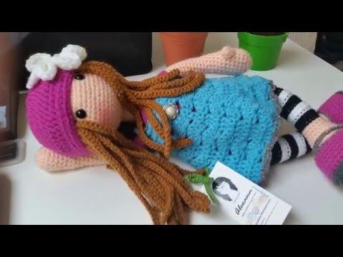 Amigurumis de ganchillo muñecas Gorjuss. Crochet dolls. Gali Craft - YouTube