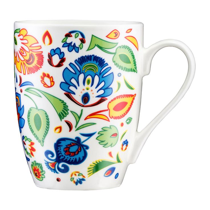 FOLK! Kubek porcelanowy, 350 ml, z kolekcji marki AMBITION