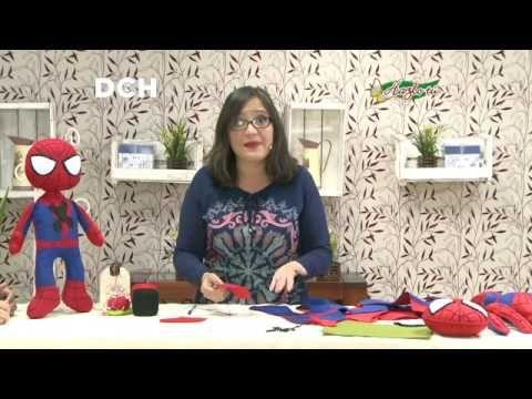 Hombre Araña en pañolenci - Yasna Pino - Casa Puchinni