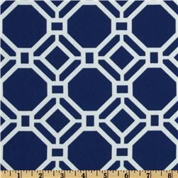 Thinking Blue Geometric with Orange and White Accents for the table this year.   Swavelle/Mill Creek Indoor/Outdoor Rossmere Windsol