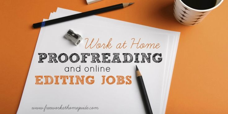 On this page, I have gathered a list of companies that offer online editing or work at home proofreading jobs for those interested in working from home.