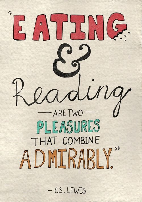Couldn't agree more #goodeats #goodreads