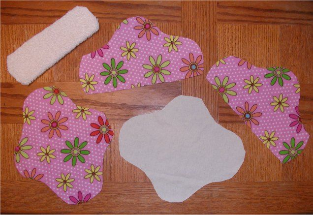 Make your own reusable menstrual pads.?????????????????????????????? Ru kidding me that is the grosses thing I have ever heard of