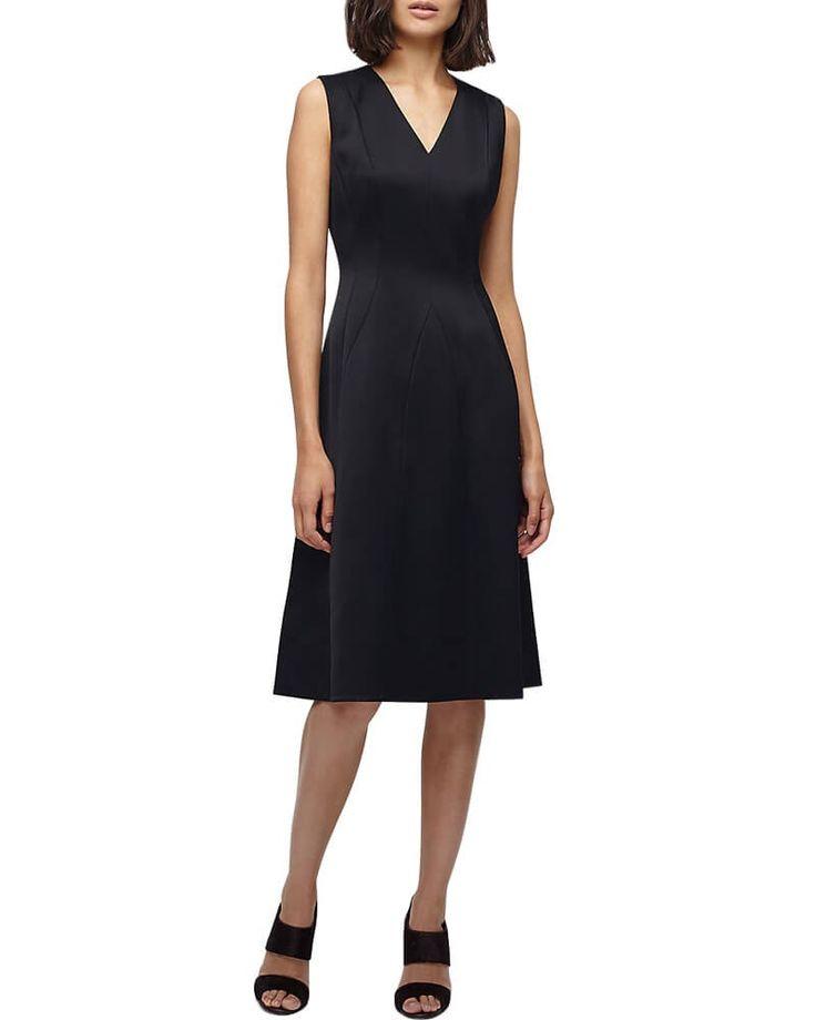 Kathya Satin Evening Dress