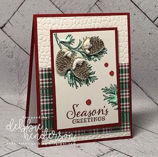 Debbies Designs: NEU! Frohe Weihnachten Card Club ab September!   – Christmas Card Ideas