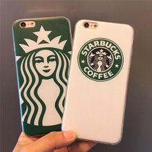 Cool Starbuck icoon Hard Cases voor Apple iPhone 5 s 5/6/6 s/6 Plus Protectors mobiel Accessoires Gevallen Terug Shell Covers(China (Mainland))