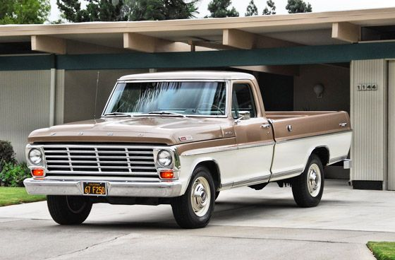 1967 Ford F 250 Camper Special Ride Of The Year Award