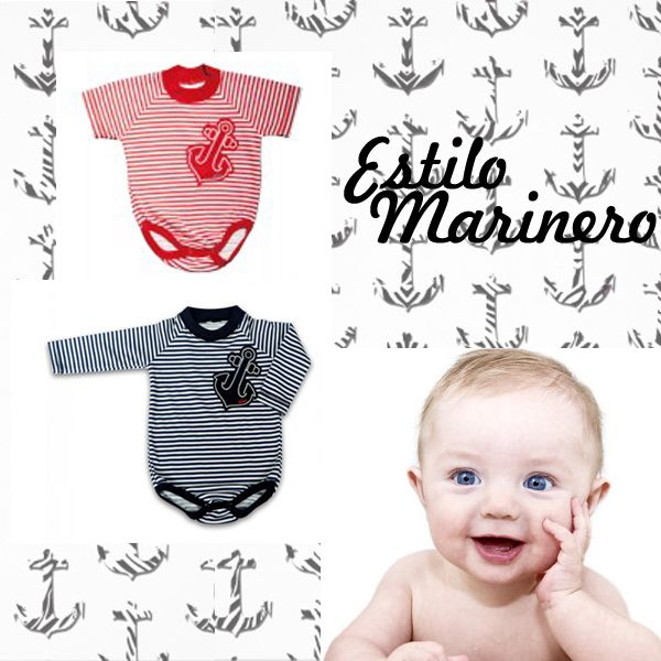 Estilo Marinero #Gico #stripes #style #baby #red #black
