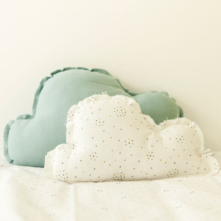 Cojin verde de nube belandsoph