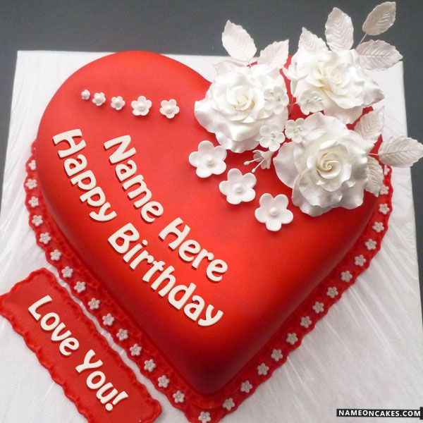 Download Happy Birthday Cake With Name Edit Birthday Cake With Name Free Online S Happy Birthday Cake Images Birthday Cake With Photo Happy Anniversary Cakes