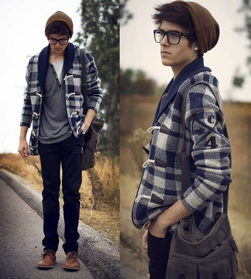 to many guys are dressing that way. this is way more attractive. :) LOL