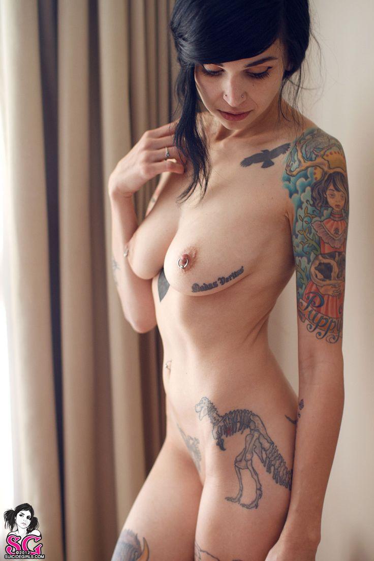 Tattooed sexy naked girls