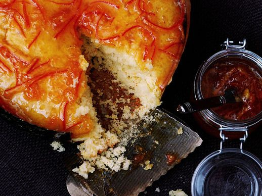 Olive Oil Cake with Tangerine Marmalade | Serious Eats : Recipes