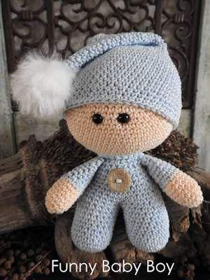 Funny haakpakket - Baby Boy www.hobbyheukske.com