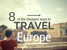Europe is one of my top travel destinations. When I travel Europe cheap, often at a fraction of the price, it only makes it better. It is also one of the places that people ask me about the most. O...