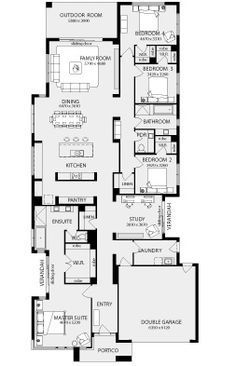 Monaco New Home Floor Plans, Interactive House Plans - Metricon Homes - Melbourne