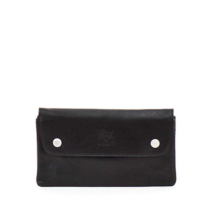 pauline bags handtassen accessoires mechelen il bisonte C0986 wallet black zwart noir nero  http://www.pauline-bags.be/il-bisonte