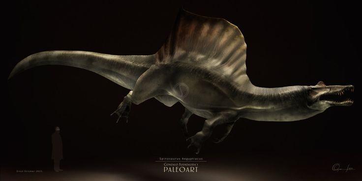Spinosaurus Aegyptiacus by Gonzalo-Fuenzalida.deviantart.com on @DeviantArt