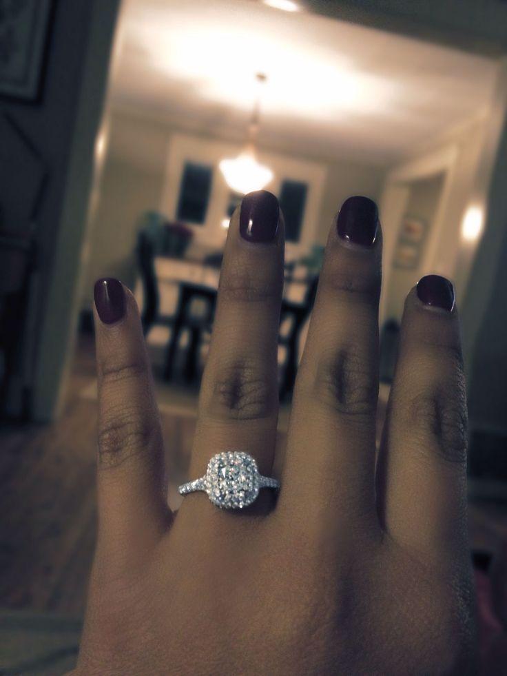 My Tiffany Engagement Ring! Elegant Classic & Stunning!