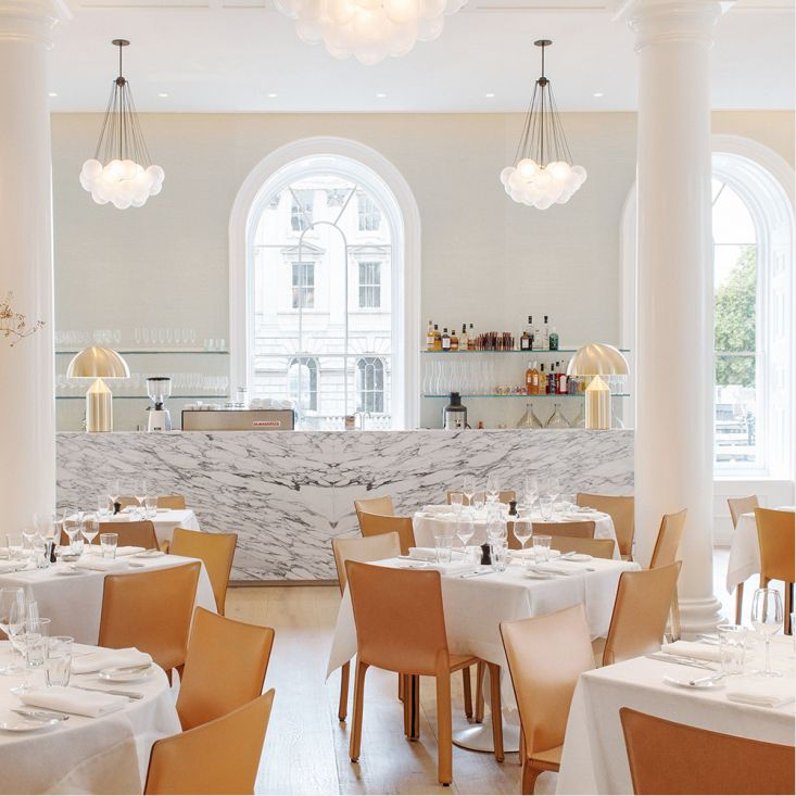 """Now installed in a proper kitchen in London's West End """"Spring"""" the restaurant located at the Somerset House. #skyegyngell"""