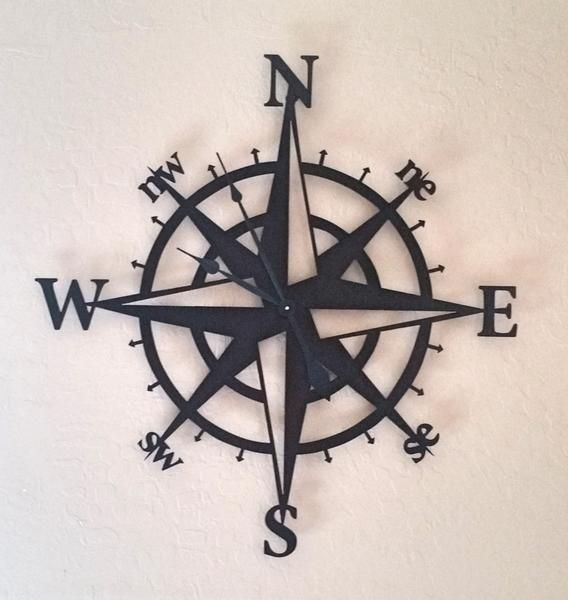 """This beautiful Wall Clock has been powder coated in Copper Vein giving a nice contrast with the black clock hands. Measurements: W 29"""" by H 30"""" Requires 1 AA battery not included. *Please use caution"""