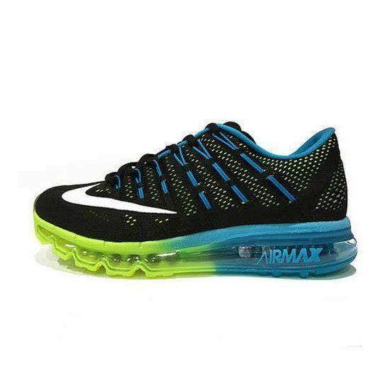Nike Air Max 2016 Black Blue Fluorescent