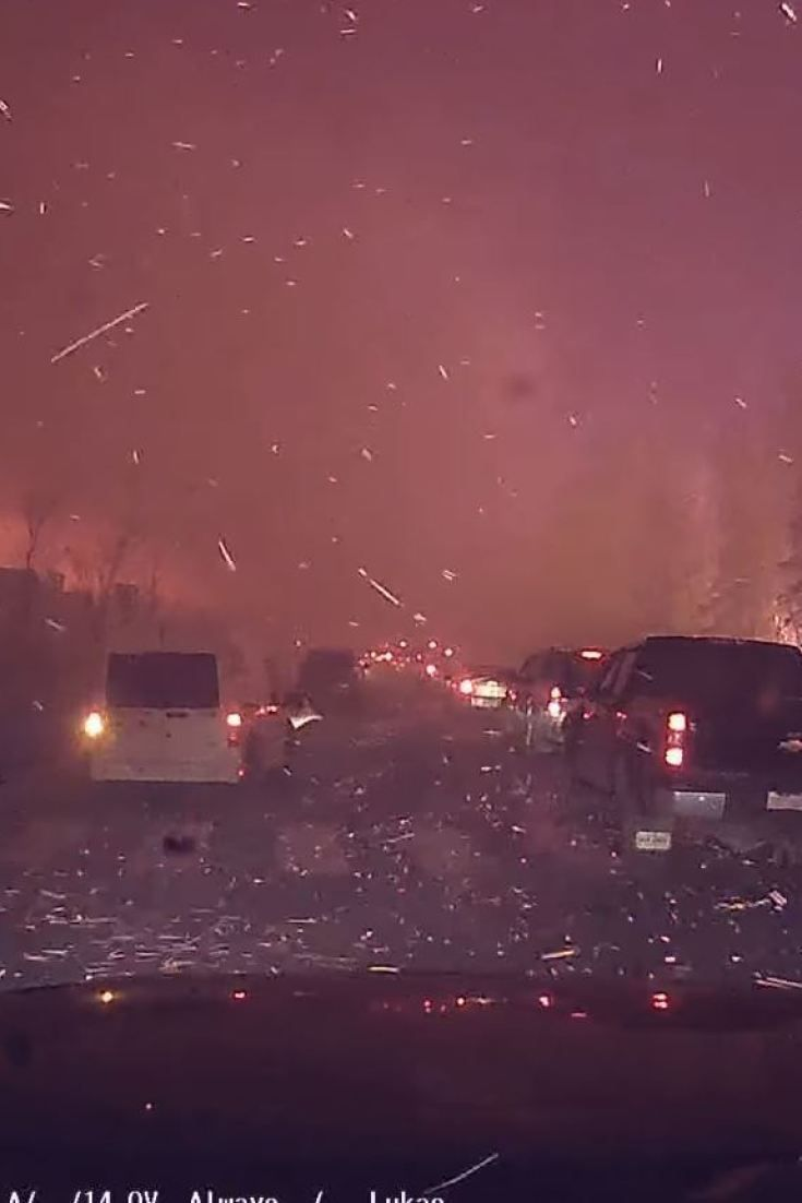 Fort McMurray Fire Dash Cam Footage Captures Terrifying Escape 2016