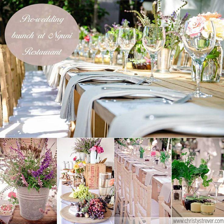 Pre wedding brunch at Nguni Restaurant. Christy Strever Photography www.christystrever.com