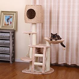 Multi Level Cat Playhouse