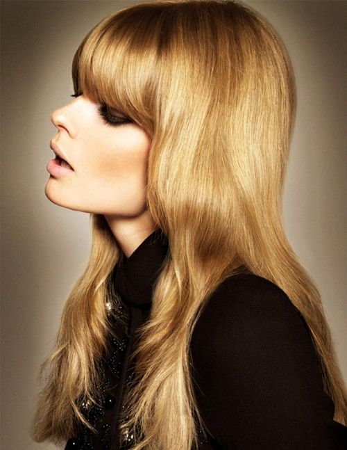 .: Blonde, Hairstyles, Inspiration, Vogue Turkey, Makeup, Hair Style, Bangs, Beauty, Hair Color