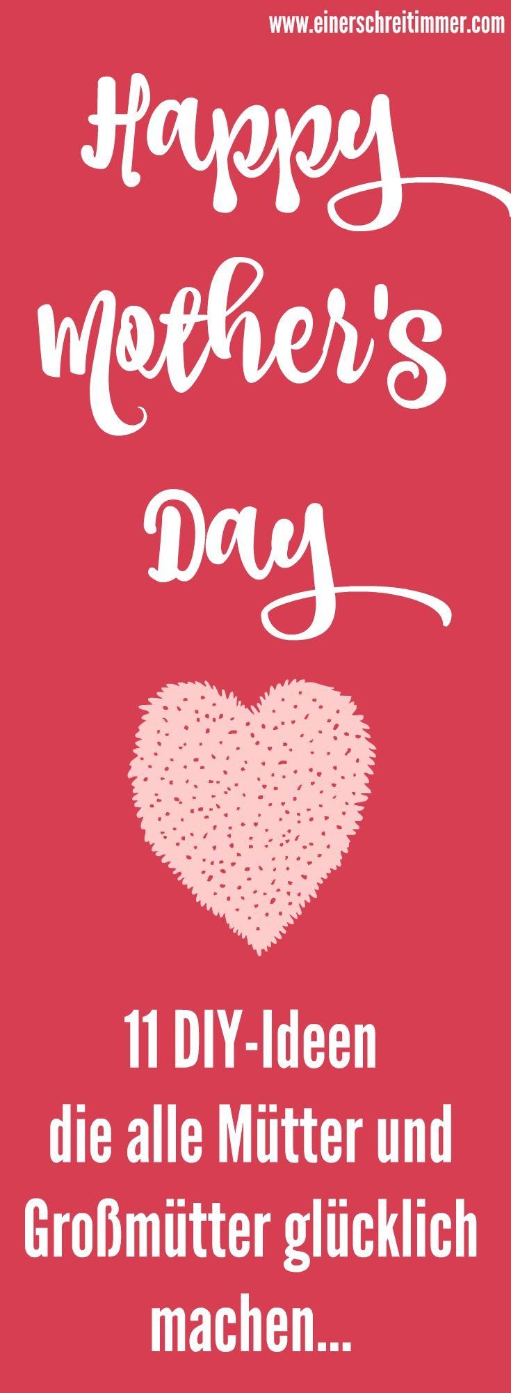 Kinderleichte DIY-Ideen für den Muttertag und den Valentinstag.