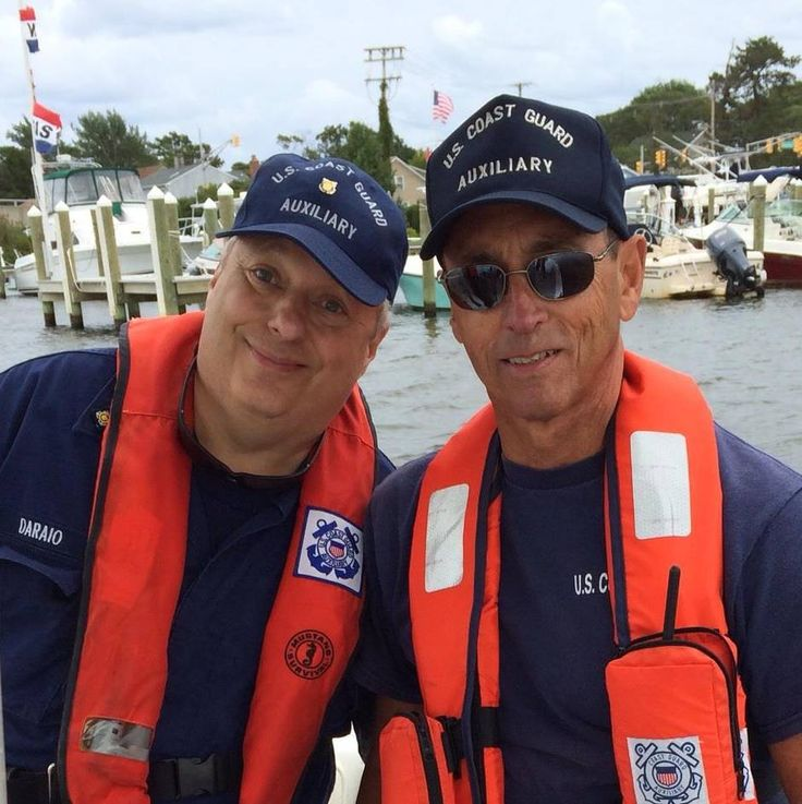 Bob Daraio and Jim Picciano at Station Manasquan Inlet