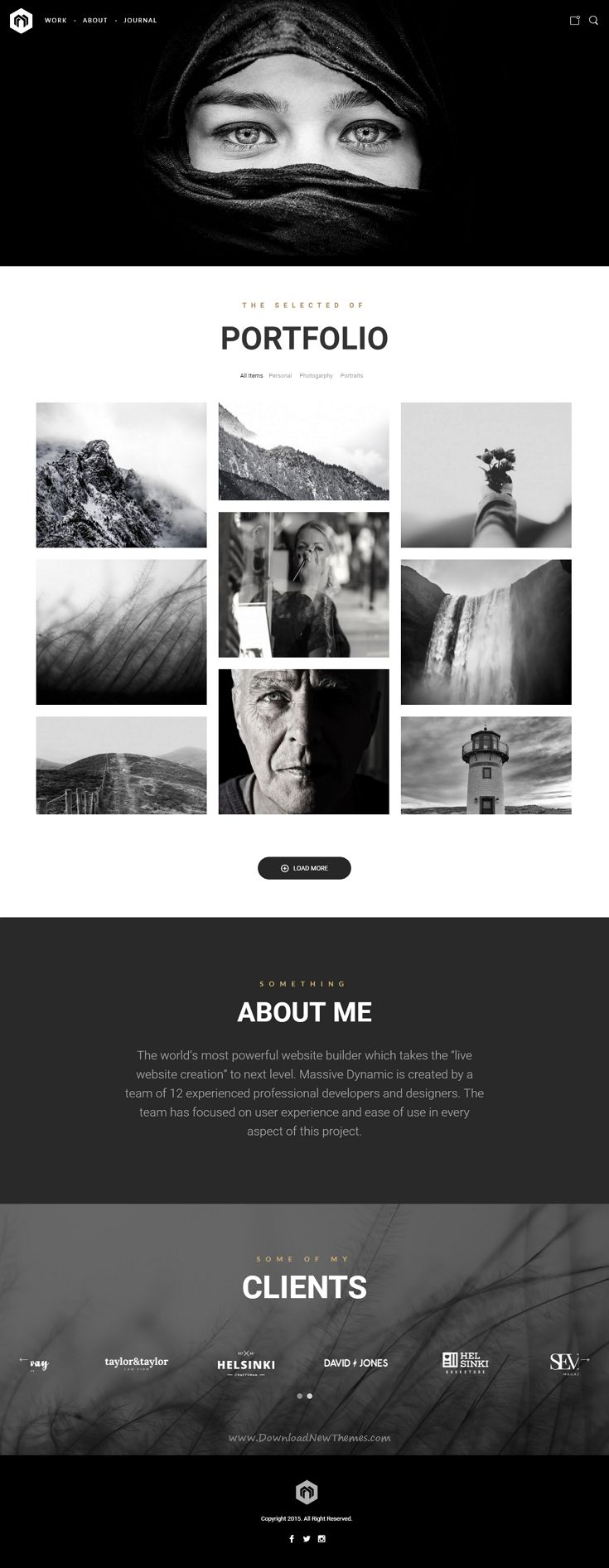 Massive Dynamic WordPress Website Builder come with 38 stunning dynamic layouts gives you the freedom of creating your very own design. Demo #Photography #artist #webdevelopment Download Now➝ http://themeforest.net/item/massive-dynamic-wordpress-website-b