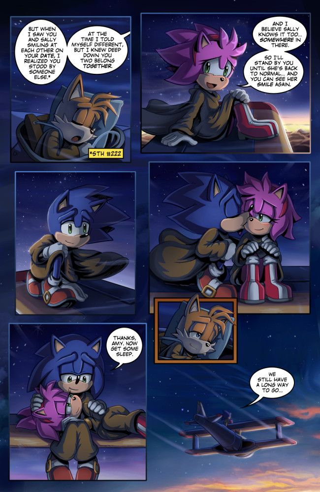 Sonic Retold Issue 3 Page 13 By Glitcher Sonic Sonic Art