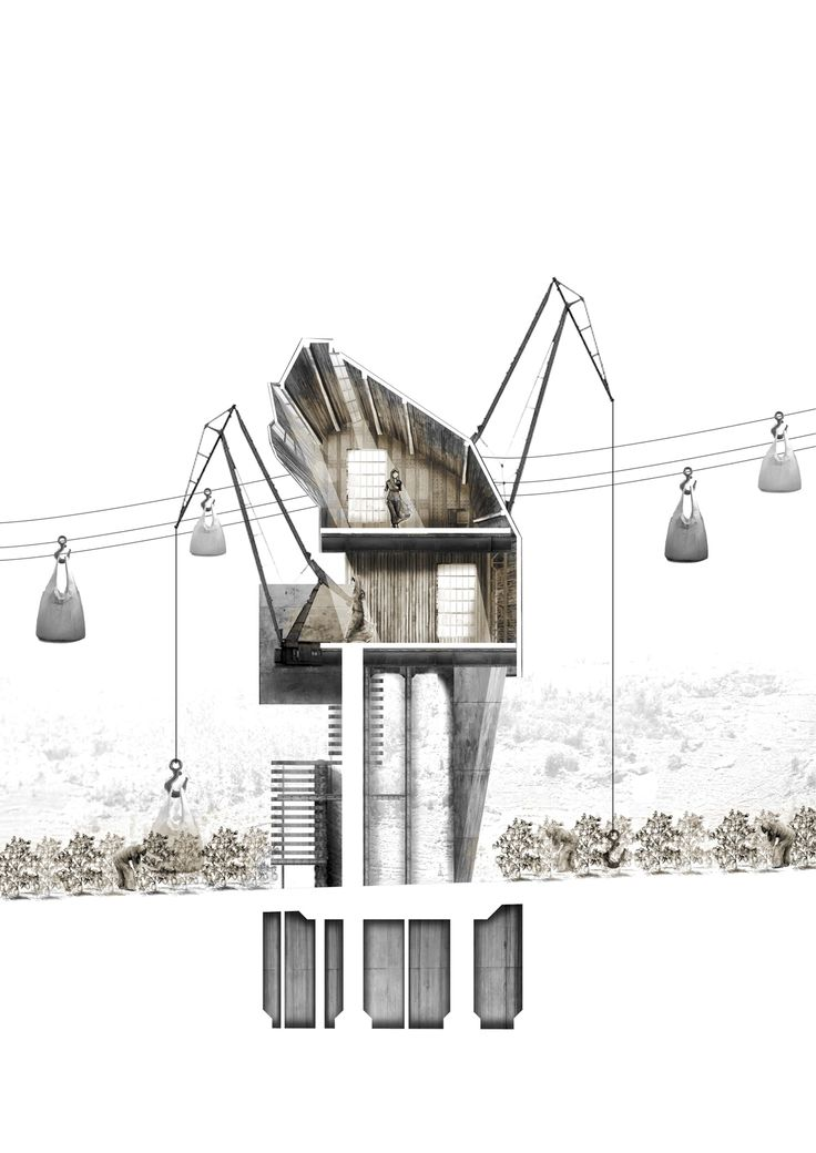 75 best architecture collage images on pinterest for Designburo loos