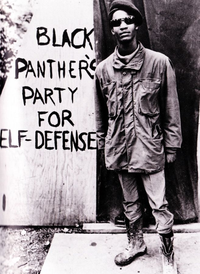 The Black Panther Party stood for the protection of African-American neighborhoods from police brutality.  They provided meals for poor children and helped to get health care in their neighborhoods.