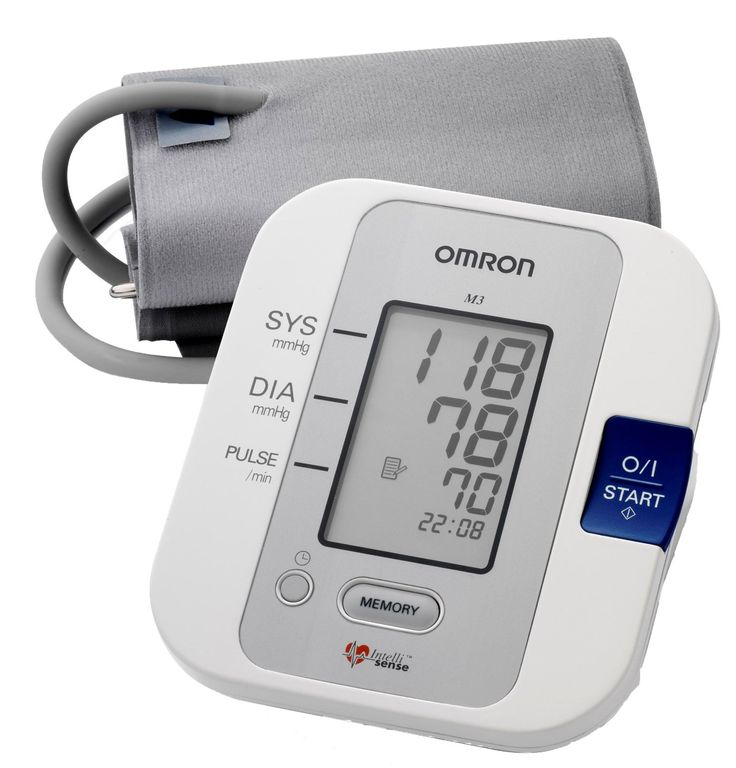 Omron M3 Intellisense Upper Arm Blood Pressure Monitor: Amazon.co.uk: Health & Personal Care