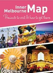 Inner Melbourne map: precincts to visit and how to get there
