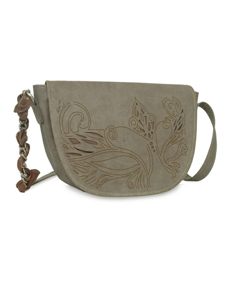 Daisy Dum Beige - A striking beige handbag by Baggit