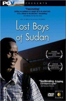 """Lost Boys of Sudan is a feature-length documentary that follows two Sudanese refugees on an extraordinary journey from Africa to America. Orphaned as young boys in one of Africa's cruelest civil wars, Peter Dut and Santino Chuor survived lion attacks and militia gunfire to reach a refugee camp in Kenya along with thousands of other children."""