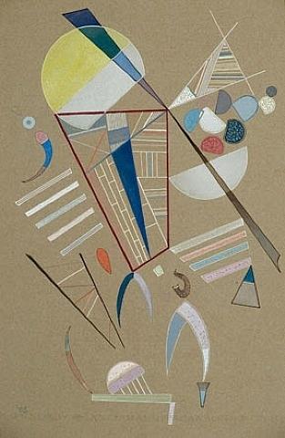 Ohne Titel by Wassily Kandinsky, 1941  Art Experience NYC: www.artexperiencenyc.com