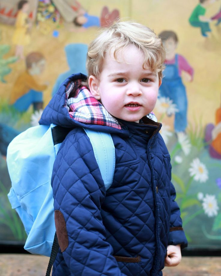 Click to see the adorable pictures from Prince George's first day at Nursery School!