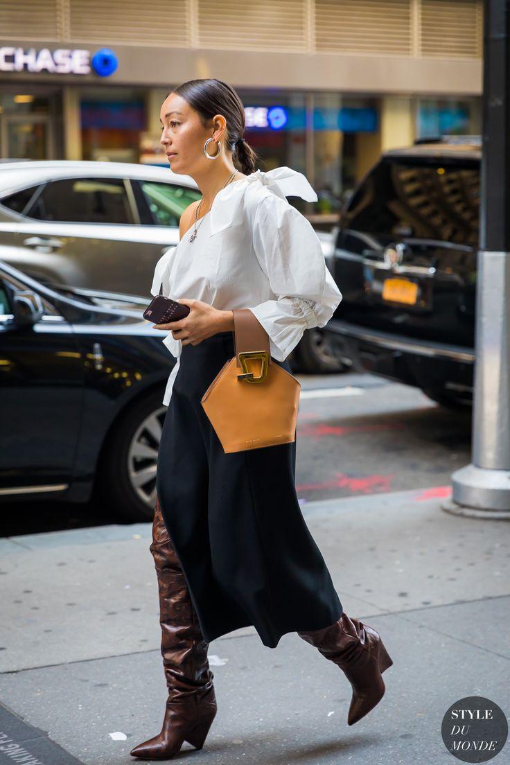 New York SS 2018 Street Style: Rachael Wang