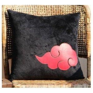 I found 'Hand-made Naruto Akatsuki symbol pillow' on Wish, check it out!