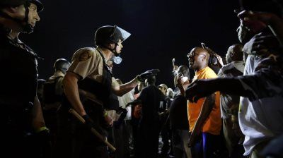 Protests turned violent for a second night in Charlotte after the fatal police…
